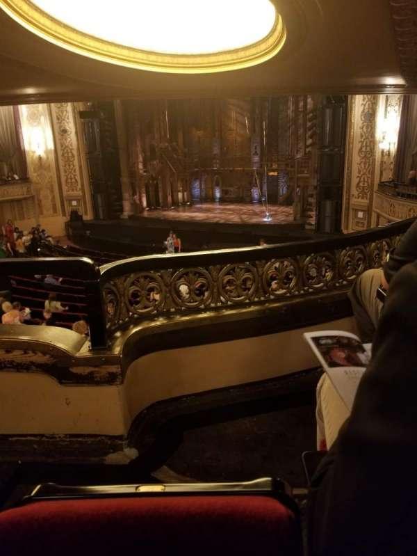 Orpheum Theatre (Omaha), section: Loge, row: Q, seat: 14