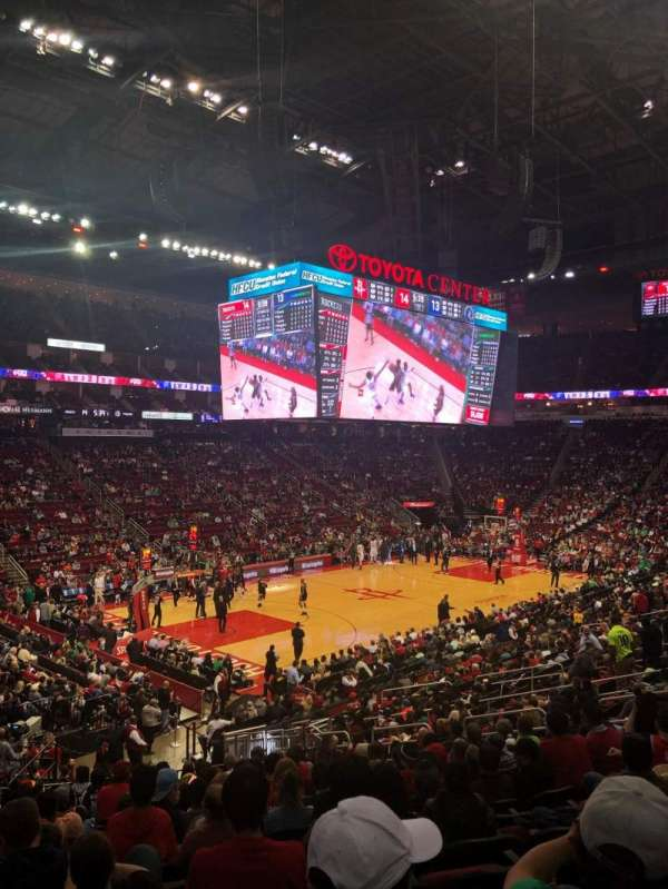 Toyota Center, section: 111, row: 24, seat: 16