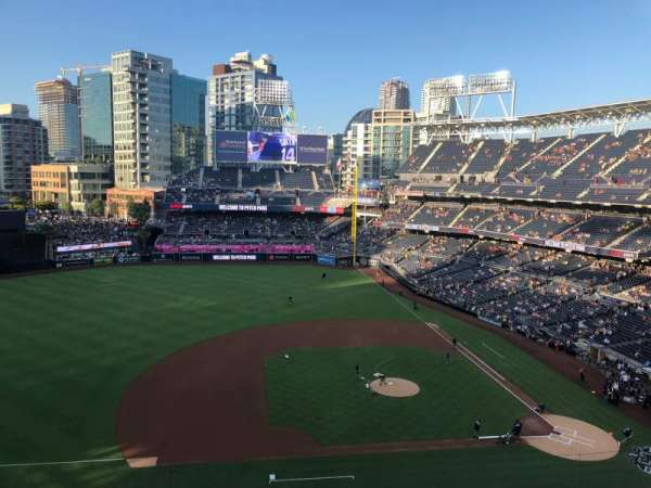 PETCO Park, section: 312, row: 3, seat: 5
