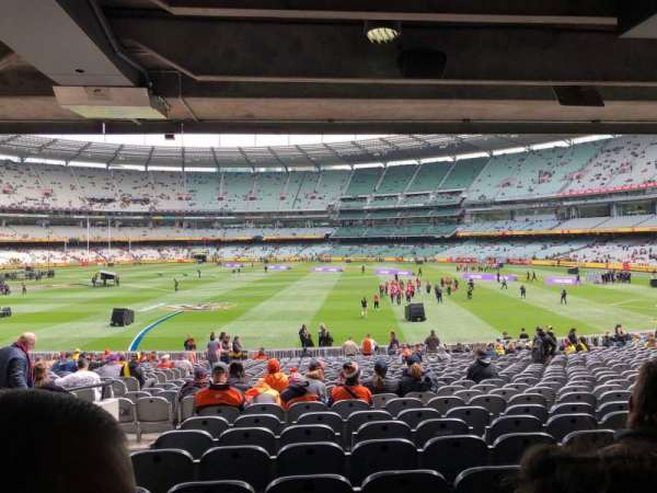 Melbourne Cricket Ground, section: M9, row: HH, seat: 15