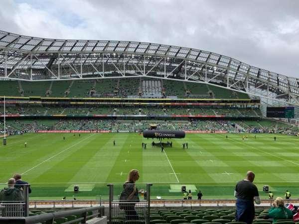 Aviva Stadium, section: 306, row: N, seat: 13
