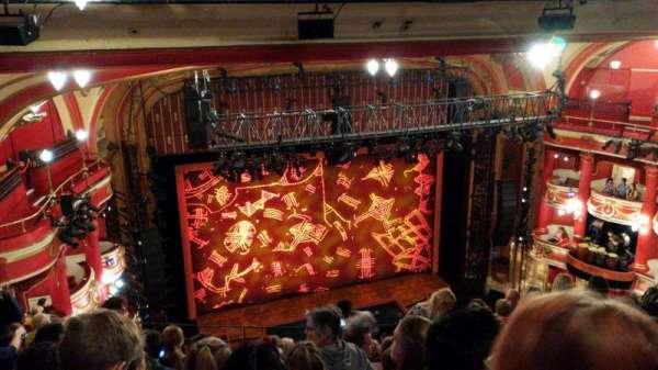 Bristol Hippodrome, section: Upper circle, row: K, seat: 44