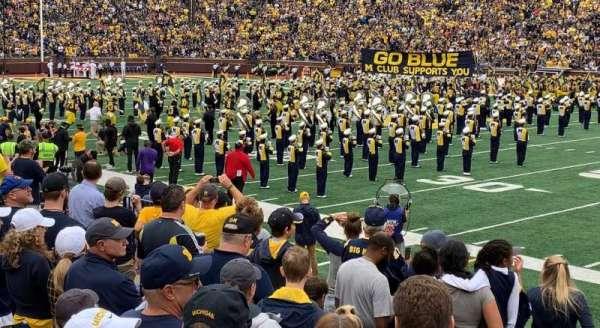 Michigan Stadium, section: 42, row: 10, seat: 10