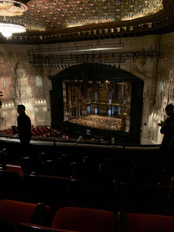 Orpheum Theatre (San Francisco), section: Balcony R, row: E, seat: 6