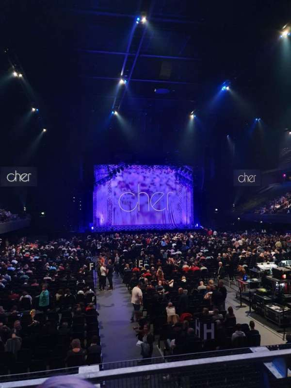 Ziggo Dome, section: 107, row: 3, seat: 236