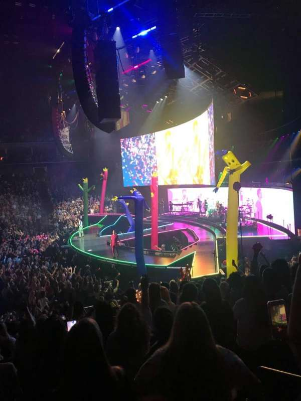 BOK Center, section: 111, row: R, seat: 2