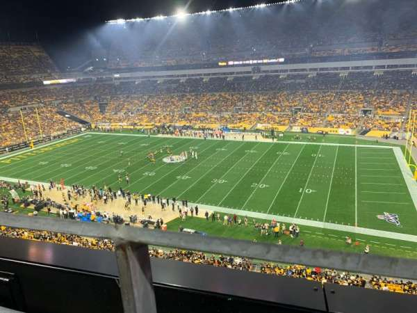 Heinz Field, section: 538, row: A, seat: 16