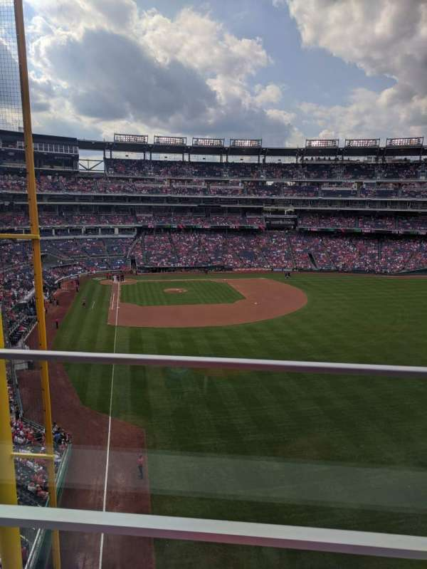 Nationals Park, section: 234, row: A, seat: 10