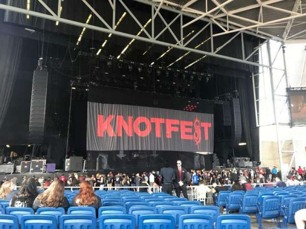 Budweiser Stage, section: 203, row: O, seat: 8