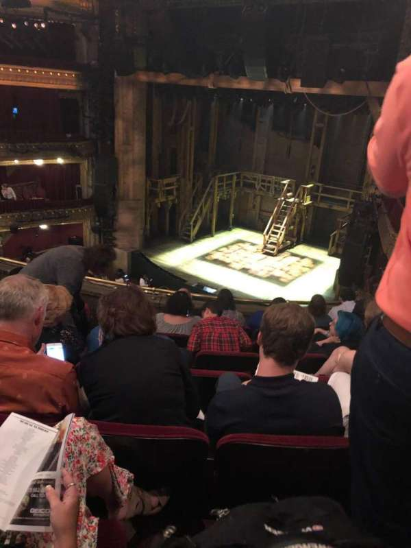 CIBC Theatre, section: Mezzanine R, row: G, seat: 16