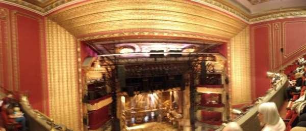 CIBC Theatre, section: Balcony L, row: B, seat: 413