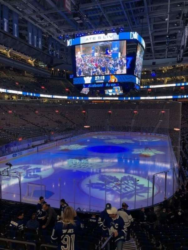 Scotiabank Arena, section: 112, row: 27, seat: 24