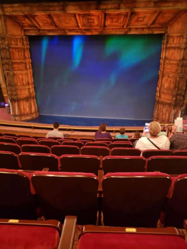 St. James Theatre, section: Mezzanine C, row: H, seat: 101