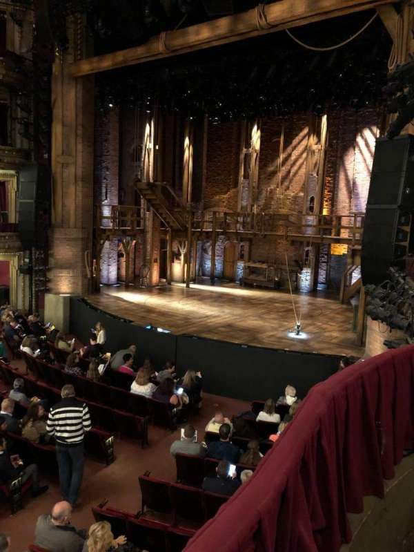 CIBC Theatre, section: Dress Circle Box 2, row: BX2, seat: 208