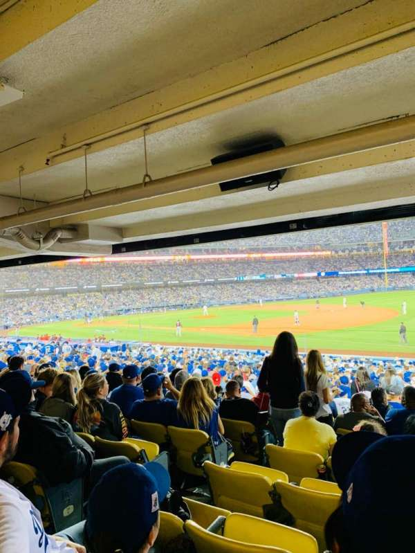 Dodger Stadium, section: 36FD, row: X, seat: 6