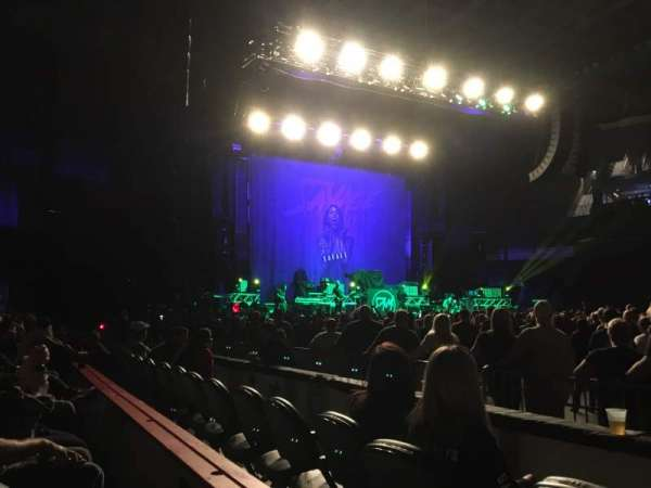 Ford Center (Indiana), section: 106, row: C, seat: 1