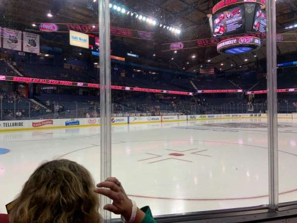 Allstate Arena, section: 105, row: Bb, seat: 8-9