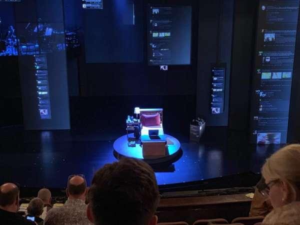Music Box Theatre, section: Mezzanine C, row: H, seat: 106