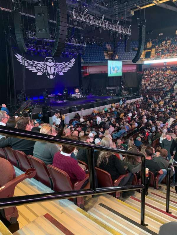 Mohegan Sun Arena, section: 24, row: N, seat: 20