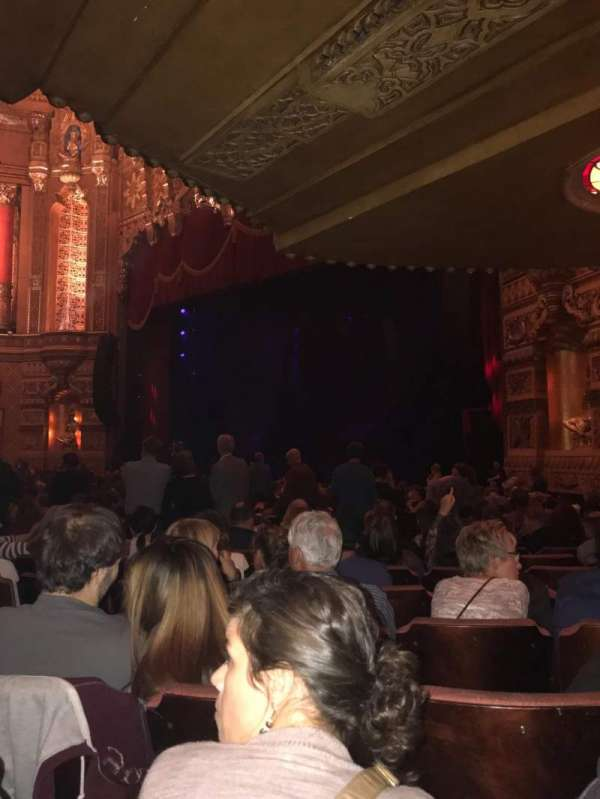 Fox Theatre (Detroit), section: F6, row: Z, seat: 611
