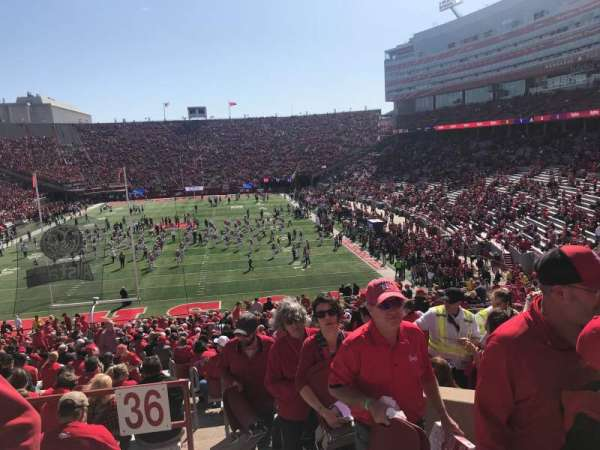 Memorial Stadium (Lincoln), section: 36-A, row: 48, seat: 3