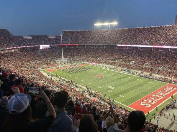 Ohio Stadium, section: 29C, row: 18, seat: 25