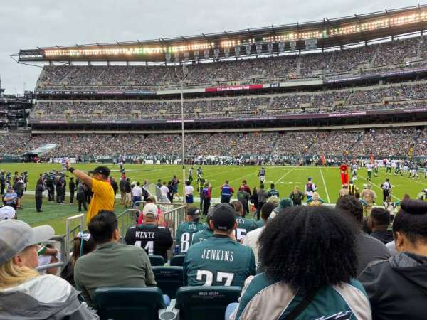 Lincoln Financial Field, section: 104, row: 6, seat: 16
