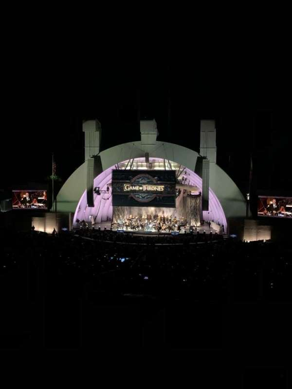 Hollywood Bowl, section: M2, row: 3, seat: 106