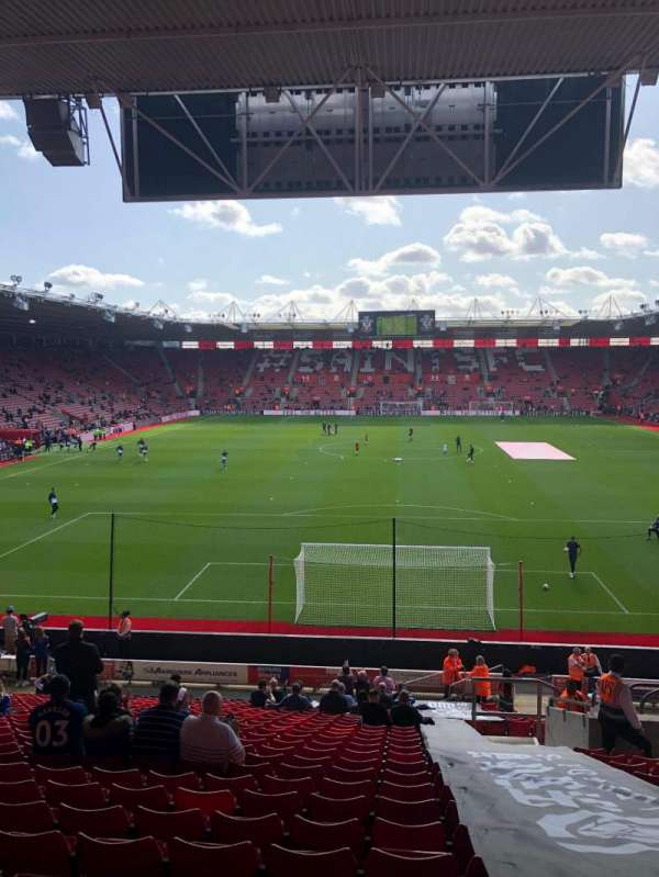 St Mary's Stadium, section: 43, row: CC, seat: 1110