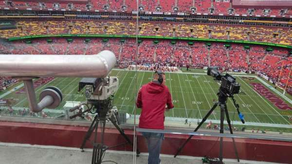 FedEx Field, section: 454, row: 4, seat: 19