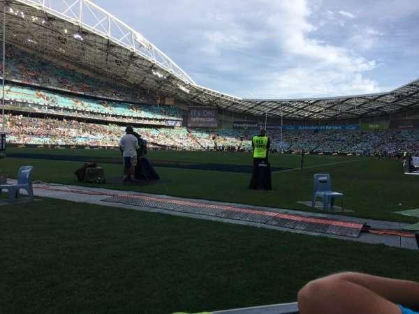 ANZ Stadium, section: 124, row: 1, seat: 32-35
