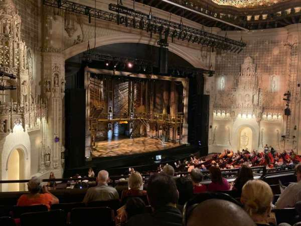 Orpheum Theatre (San Francisco), section: Mezzanine L, row: F, seat: 21
