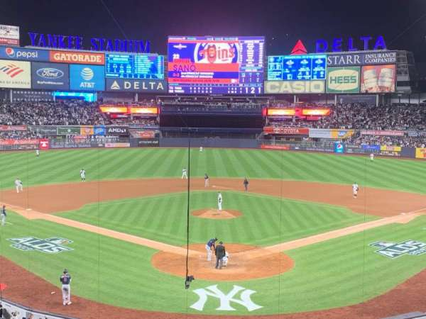 Yankee Stadium, section: 220B, row: 3, seat: 9