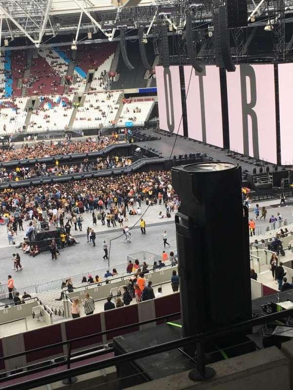 London Stadium, section: M14