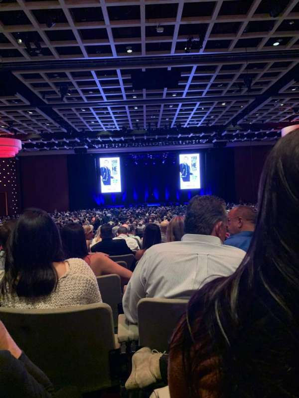 Borgata Event Center, section: C, row: S, seat: 8