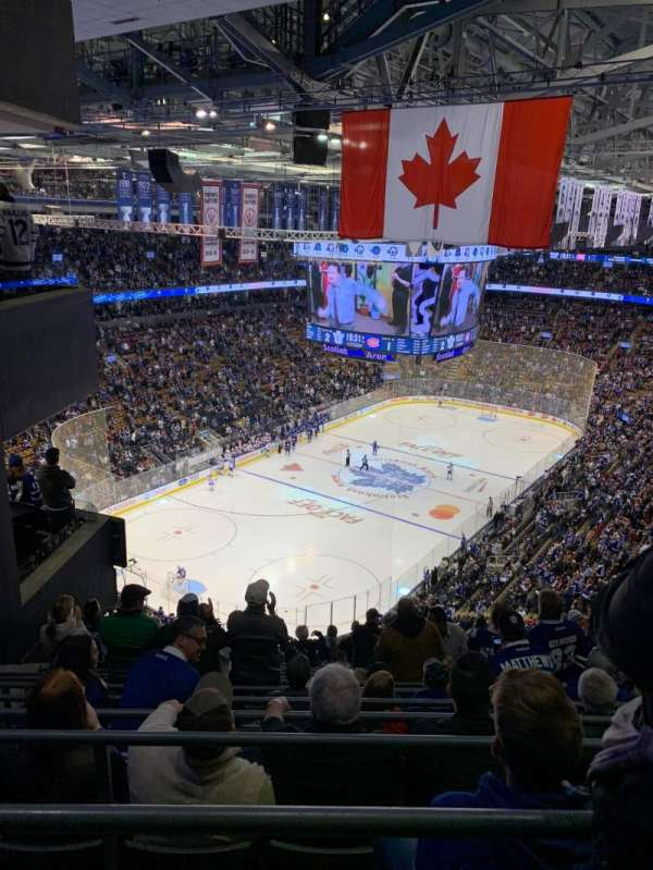 Scotiabank Arena, section: 313, row: 15, seat: 6