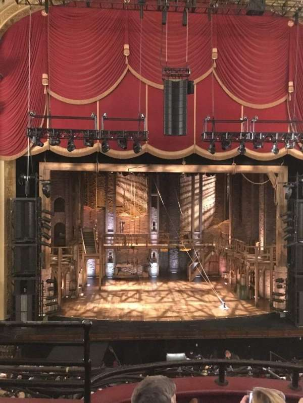 Citizens Bank Opera House, section: Dress Circle C, row: CC, seat: 109