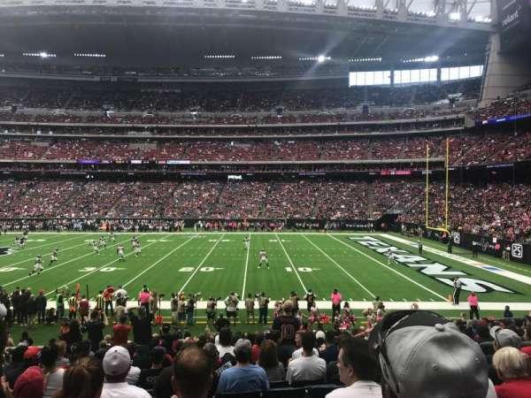 NRG Stadium, section: 124, row: U, seat: 5