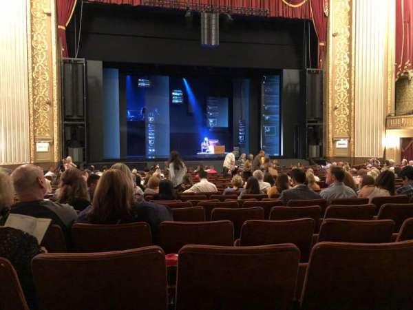 Orpheum Theatre (Memphis), section: Orchestra, row: U, seat: 208