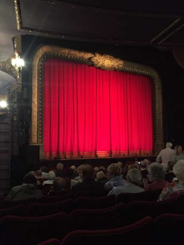 Palace Theatre (Manchester), section: Stalls, row: L, seat: 42