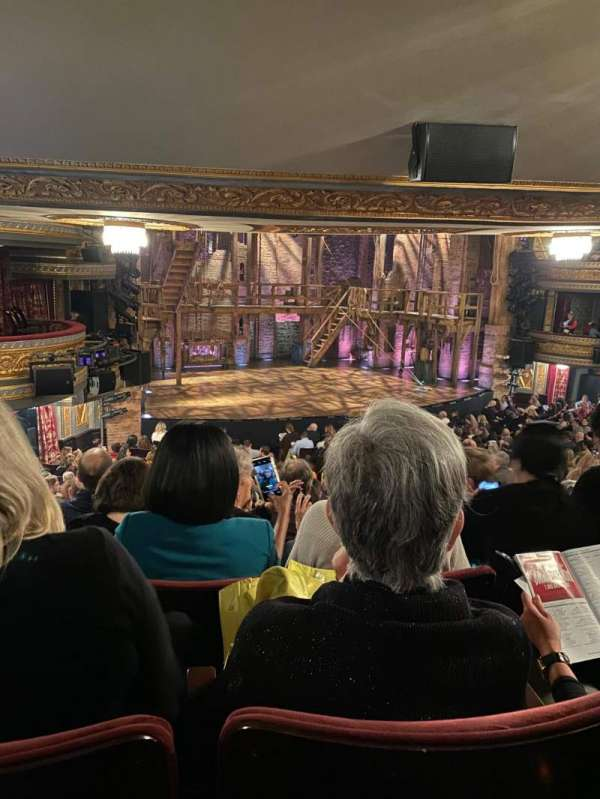 Richard Rodgers Theatre, section: Orchestra L, row: T, seat: 25