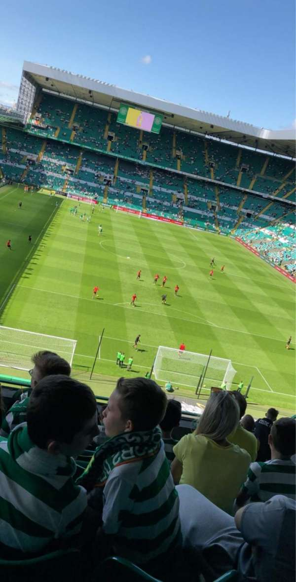 Celtic Park, section: 417, row: H, seat: 21