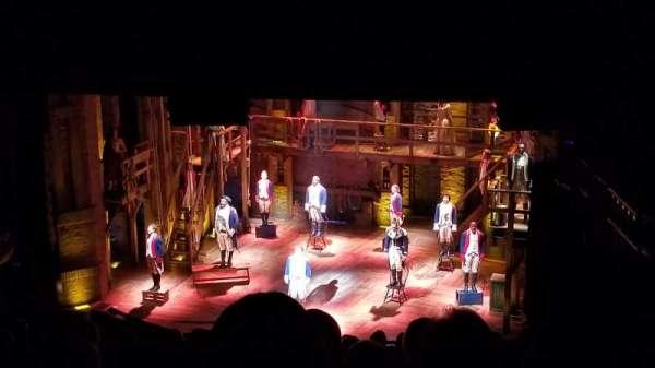 CIBC Theatre, section: Mezzanine R, row: P, seat: 6