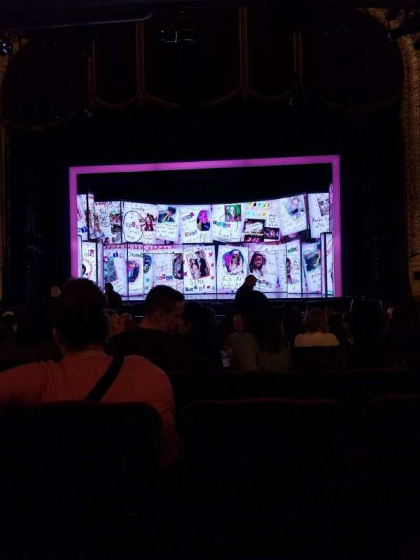 Orpheum Theatre (Minneapolis), section: MF2, row: R, seat: 4
