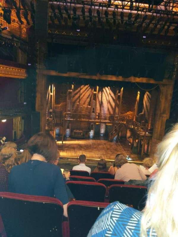 CIBC Theatre, section: Mezzanine LC, row: F, seat: 311