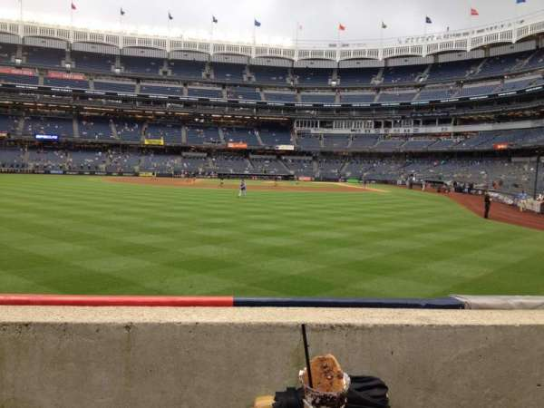 Yankee Stadium, section: 135, row: 1