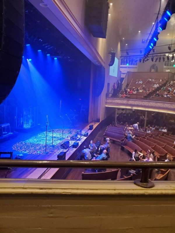 Ryman Auditorium, section: Bal-16, row: A, seat: 5