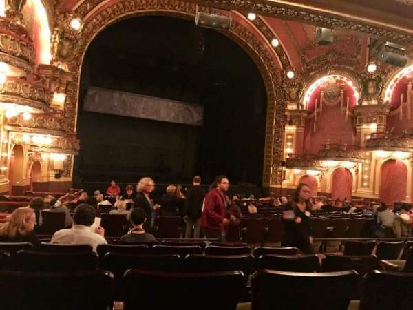 Cutler Majestic Theatre, section: Orchestra L, row: Q, seat: 11