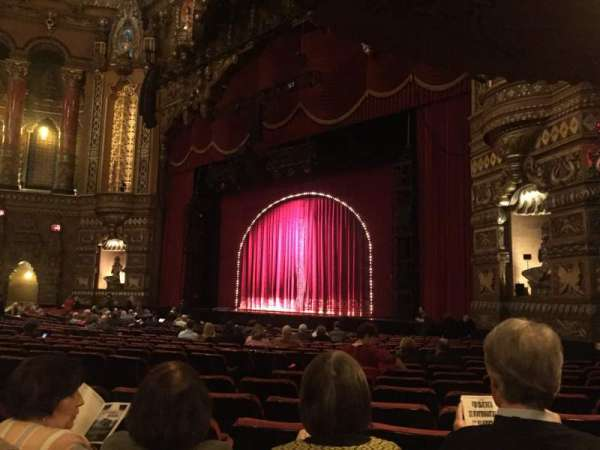 The Fabulous Fox Theatre (St. Louis), section: Orchestra 6, row: T, seat: 46