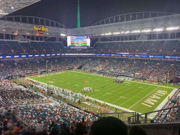 Hard Rock Stadium, section: 340, row: 15, seat: 2